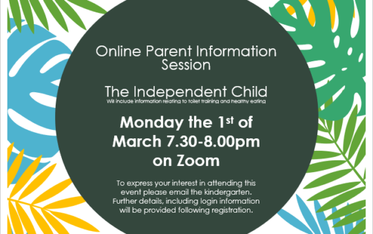 Term 1 Parent Information Session